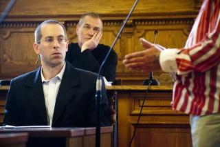 bíróság, bíró, vádlott, ügyész (Array)