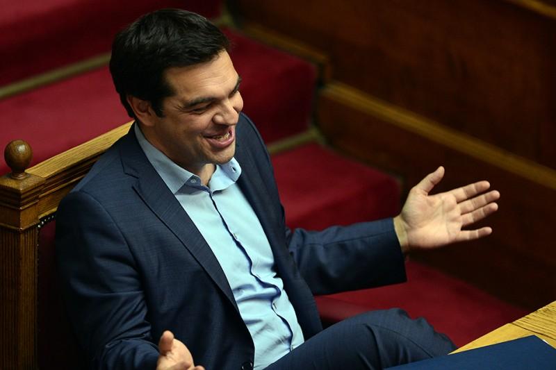 görög adósság, Alekszisz Ciprasz görög miniszterelnök (Array)