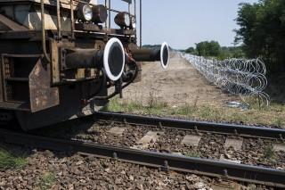 határzár vonat (Array)