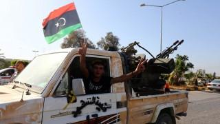 iszlám felkelők Líbiában (Array)
