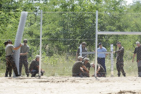 kerítés, határzár (Array)