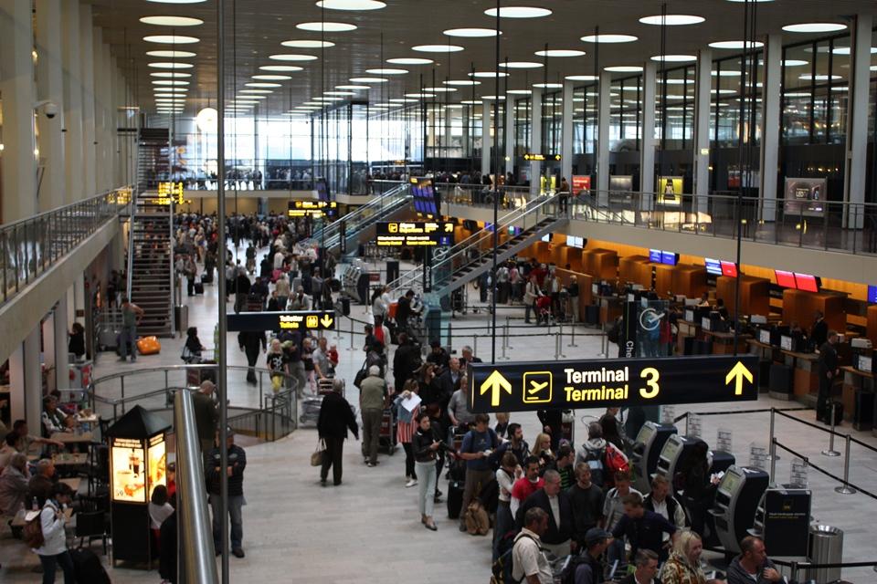 koppenhága repülőtér (Array)