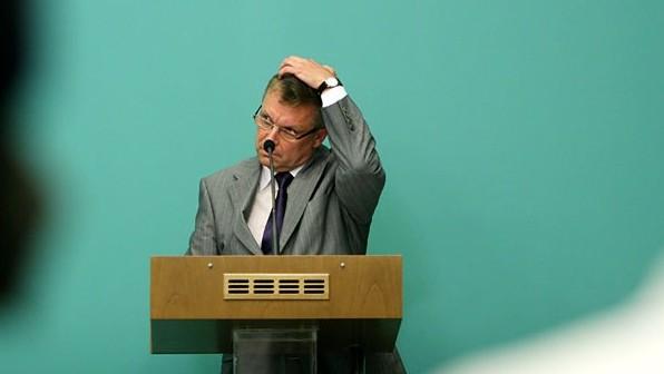 Image: 73188988, Matolcsy György, a második Orbán-kormány nemzetgazdasági minisztere sajtótájékoztatót tart., Place: Budapest, Hungary, License: Rights managed, Model Release: No or not aplicable, Property Release: Yes, Credit: smagpictures.com