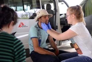 menekült orvosi vizsgálat (Array)