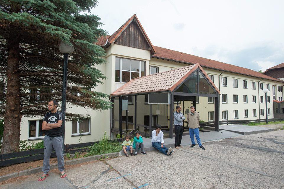 menekültek németországban (Array)