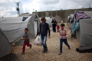 menekülttábor törökországban (Array)