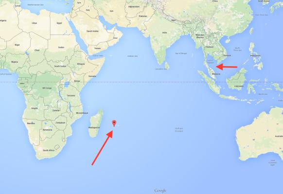 mh370 térkép (Array)