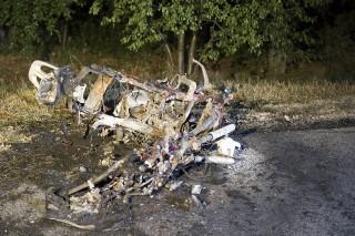 motorbaleset az 51-esen (Array)