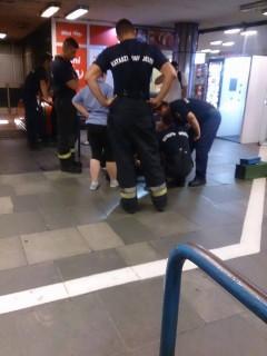 mozgólépcső baleset (Array)