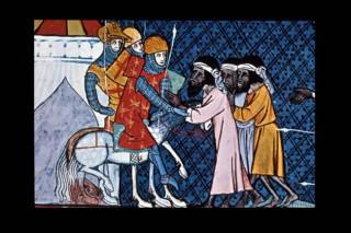 muzulmán ábrázolás, középkor (Array)