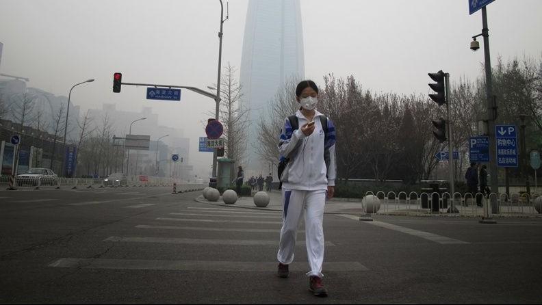 szmog pekingben (Array)