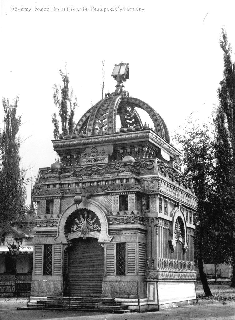 Az Aranykönyv pavilonja (ép.: Korb Flóris és Giergl Kármán)