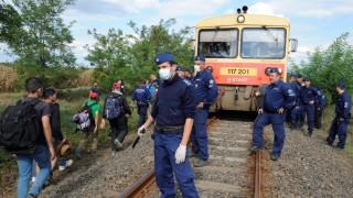 Illegális bevándorlás - Migránsok egy csoportja kitört a röszkei gyűjtőpontról