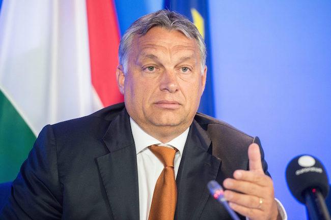 Brüsszel, 2015. szeptember 3. A Miniszterelnöki Sajtóiroda által közreadott képen Orbán Viktor miniszterelnök nemzetközi sajtótájékoztatót tart Brüsszelben, az Európai Tanács épületében 2015. szeptember 3-án. MTI Fotó: Miniszterelnöki Sajtóiroda / Botár Gergely
