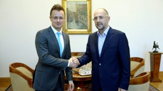 Szijjártó Péter és Kelemen Hunor találkozója Budapesten