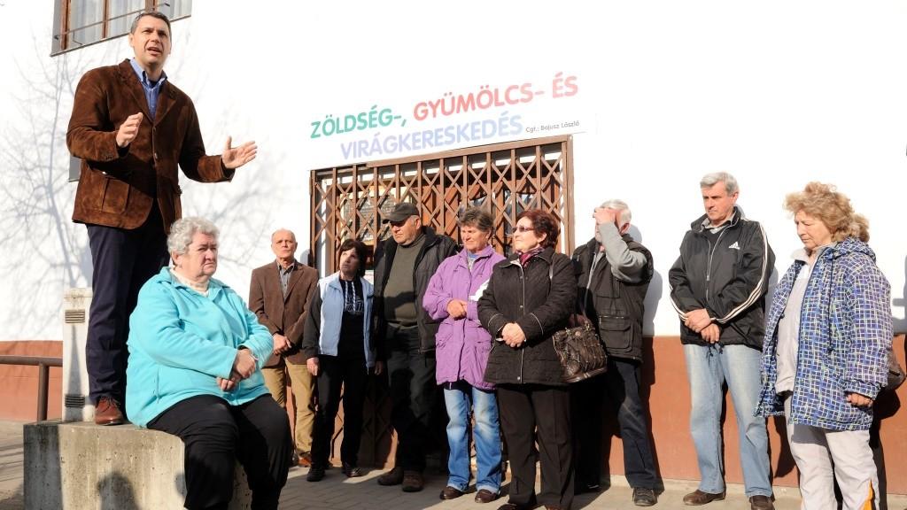 OGY2014 - Fidesz - Lázár János utcafóruma Makón