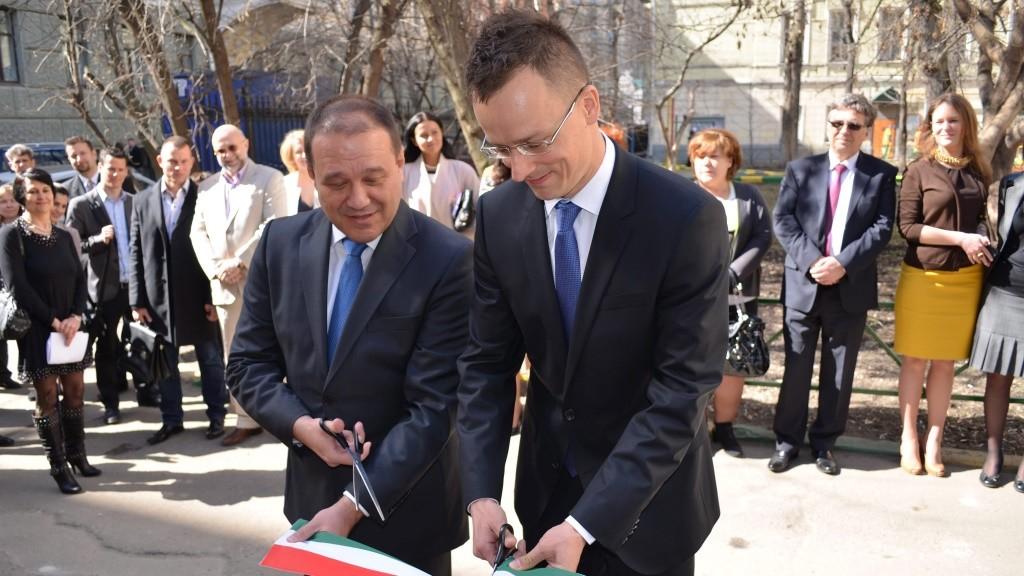 Magyar kereskedőház nyílt Moszkvában