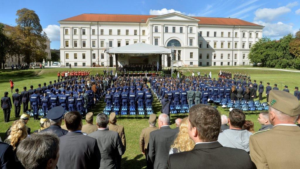 Tanévnyitó ünnepség a Nemzeti Közszolgálati Egyetemen