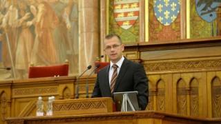 Az Információs Társadalom Parlamentje című konferencia az Országházban