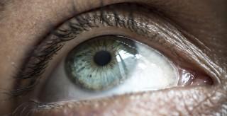 Close Up Female Eye
