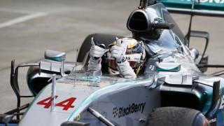 Motorsports: FIA Formula One World Championship 2015, Grand Prix of Japan,  #44 Lewis Hamilton (GBR, Mercedes AMG Petronas Formula One Team),