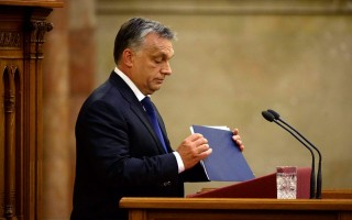 Az Országgyűlés plenáris ülése - Orbán Viktor