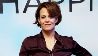 """NEW YORK, NY - FEBRUARY 10:  Actress Sigourney Weaver attends the """"Chappie"""" Cast Photo Call  at Crosby Street Hotel on February 10, 2015 in New York City.  (Photo by Astrid Stawiarz/Getty Images)"""