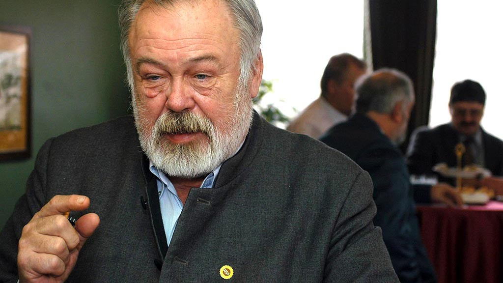 Budapest, 2006. február 1.Szeremley Huba, a Magyar Gazda- és Polgárpárt elnöke. MTI Fotó: Beliczay László