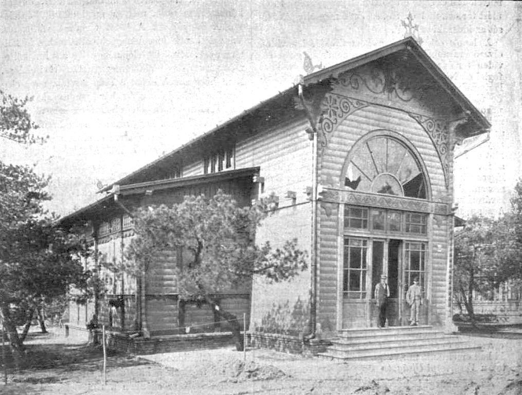 A Thonet-fivérek pavilonja