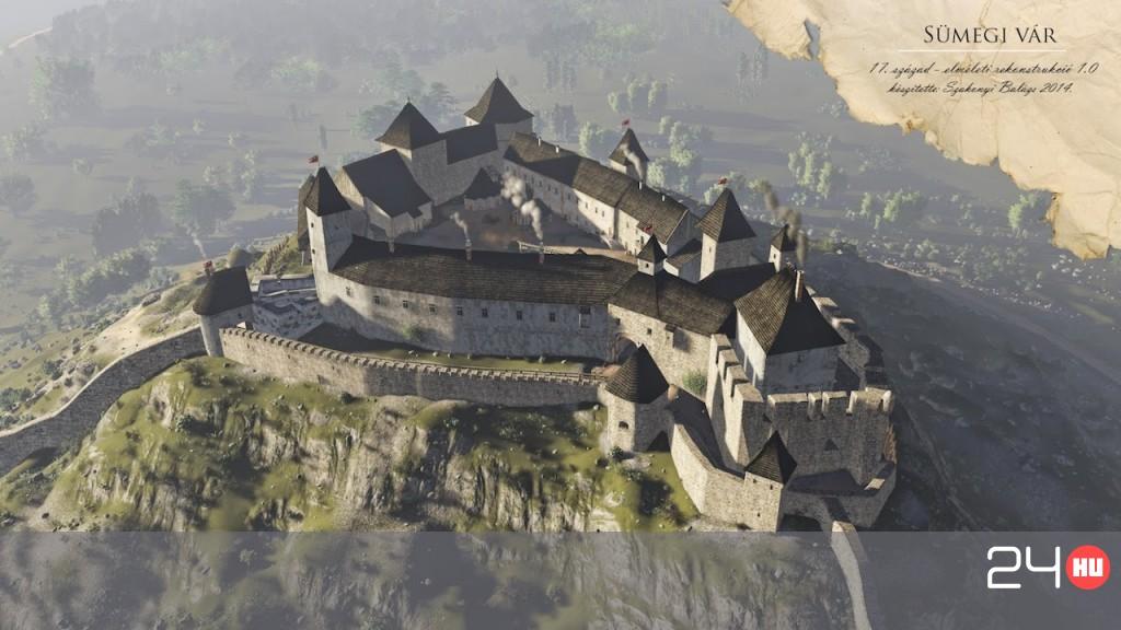 6b35c4da3b Így néztek ki legszebb középkori váraink   24.hu