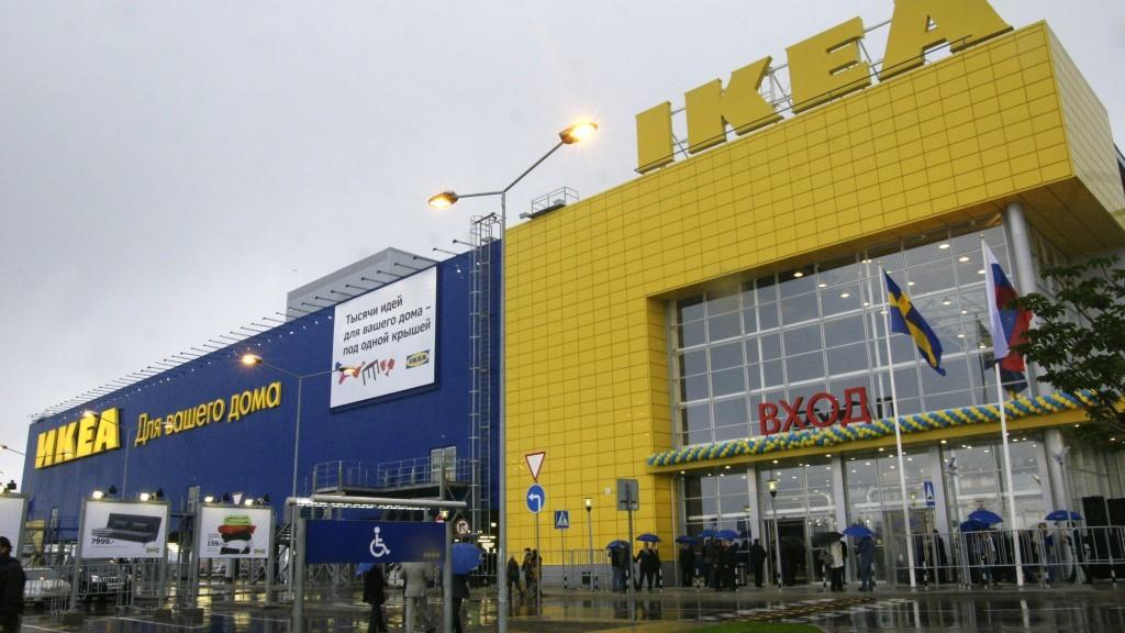 Grand opening of a new IKEA store in Samara.