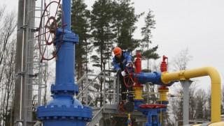 1294596 Belarus. 11/22/2012 The ceremony of launching the JSC Gazprom's gas distribution station Zapadnaya opened after reconstruction near the village of Atolino (Minsk District). Egor Eryomov/RIA Novosti