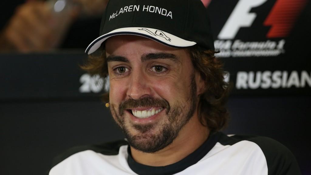 Motorsports: FIA Formula One World Championship 2015, Grand Prix of Russia,  #14 Fernando Alonso (ESP, McLaren Honda),