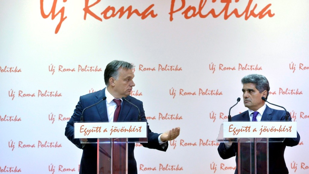 Orbán Viktor és Farkas Flórián sajtótájékoztatója