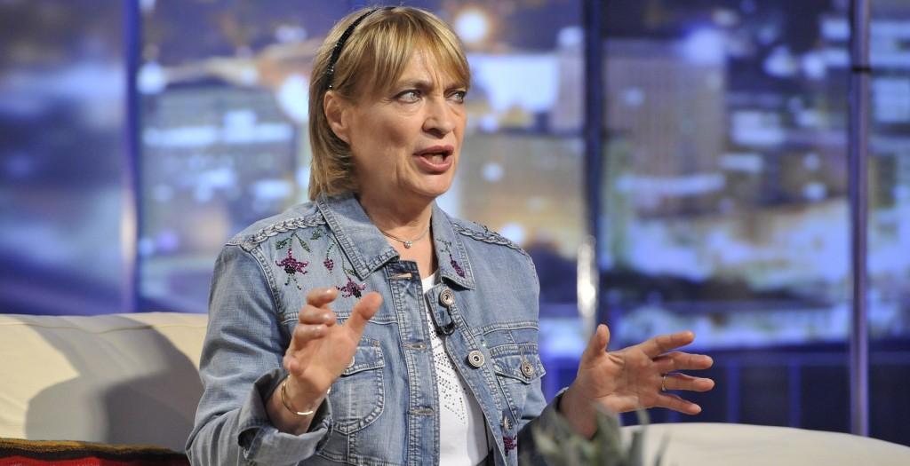Budapest, 2012. szeptember 11. Kovács Kati elõadómûvész a DTK - D. Tóth Kriszta Show TV-felvételén, az MTVA 1-es stúdiójában.  MTVA Fotó: Zih Zsolt