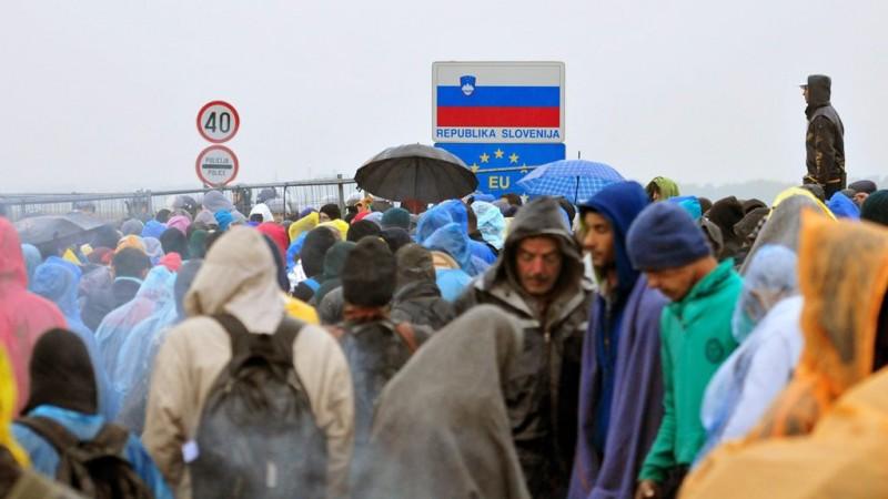 Illegális bevándorlás - Horvát-szlovén határ
