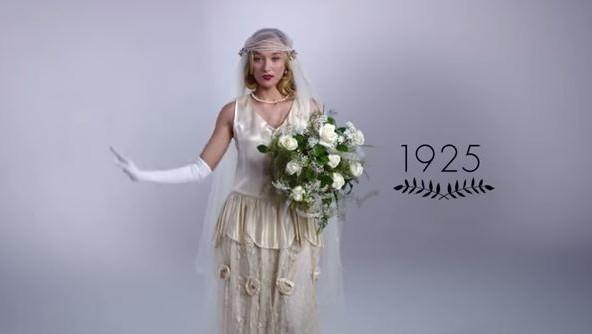 Így változtak az esküvői ruhák az elmúlt száz évben  72d710f893