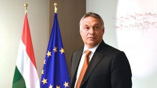 Brüsszel, 2015. szeptember 3.Az Európai Tanács által közreadott kép Orbán Viktor miniszterelnökről, mielőtt sajtótájékoztatót tart Donald Tuskkal, az Európai Tanács elnökével Brüsszelben 2015. szeptember 3-án. Az Európai Unió vezető politikusai a migránsválságról tárgyalnak a belga fővárosban. (MTI/Európai Tanács/Christos Dogas)