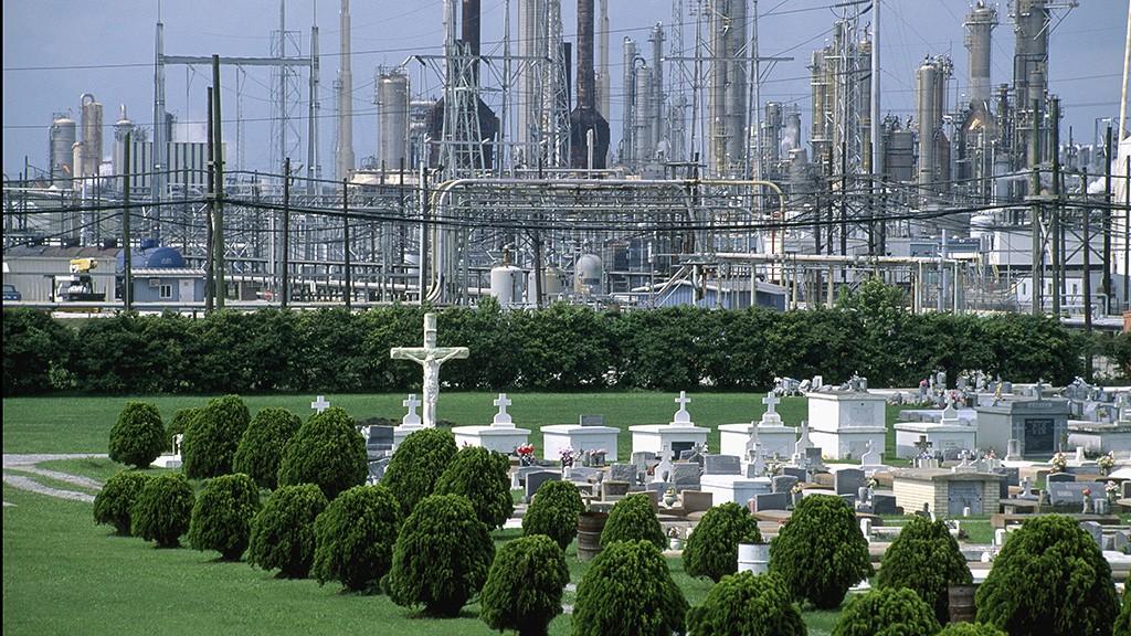 USA, southern States, Louisiana, refinery, Texaco-country