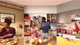 a nescafé 360 fokos videója