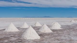 En we hebben een halve kilo zout gekocht om in Nederland te verdelen (best dom he?)