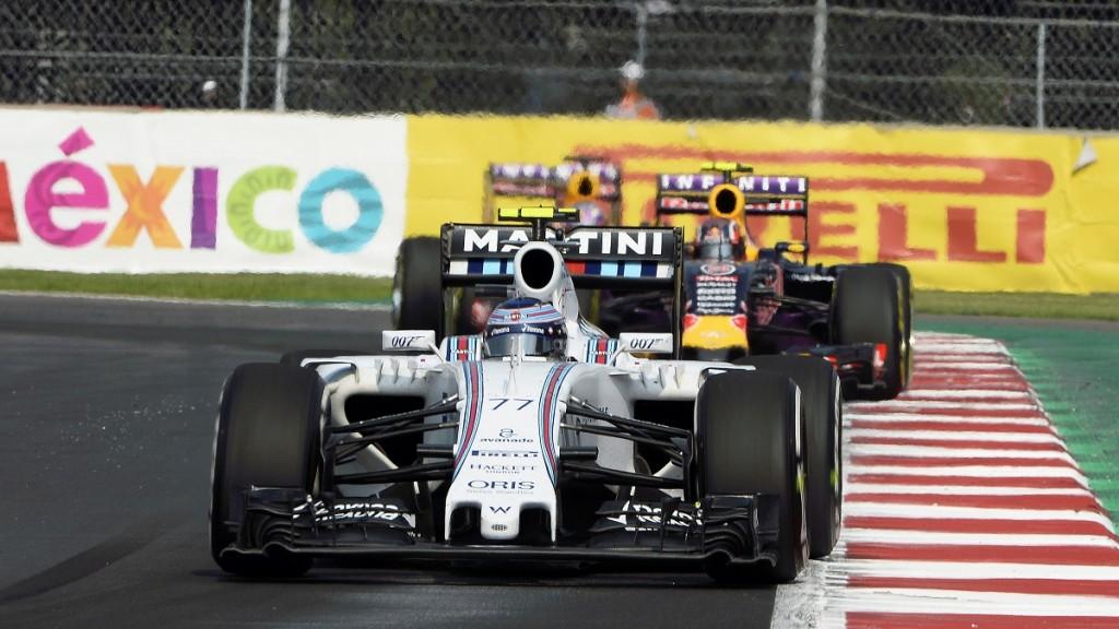 Motorsports: FIA Formula One World Championship 2015, Grand Prix of Mexico,  #77 Valtteri Bottas (FIN, Williams Martini Racing),