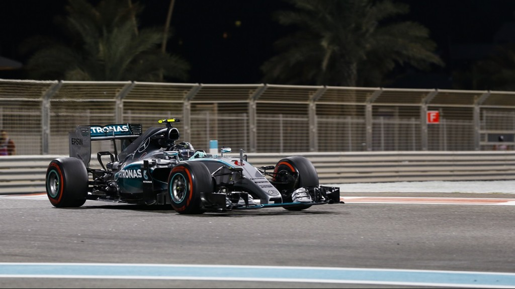 ROSBERG nico (ger) mercedes gp mgp w06 action during the 2015 Formula One World Championship, Abu Dhabi Grand Prix from November 27th to 29th 2015 in Yas Marina. Photo Florent Gooden / DPPI