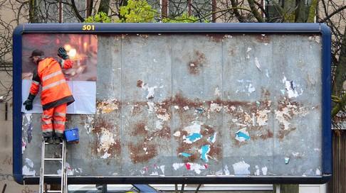 outdoor plakáthely hirdetés reklám