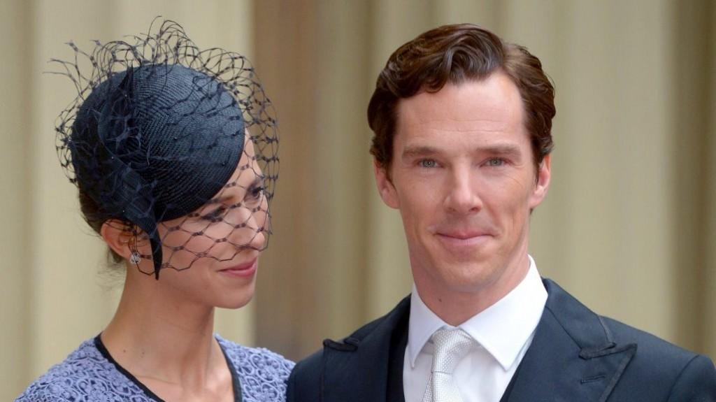 Benedict Cumberbatch kitüntetése