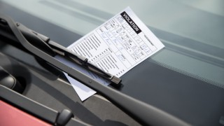 Parking Ticket On Car