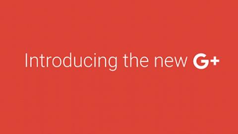 jön az új google+