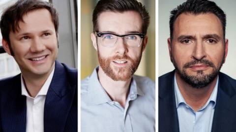 Az Axel Springer és a Viacom vegyesvállalatának három vezetője