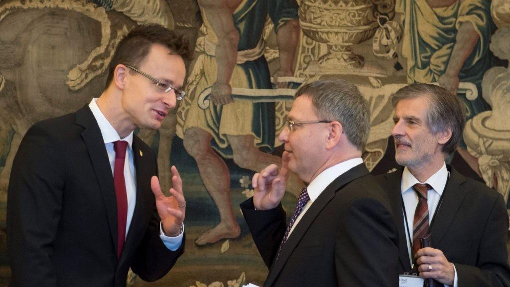 Szijjártó Péter a V4-ek és Nyugat-Balkán külügyminisztereinek csúcstalálkozóján