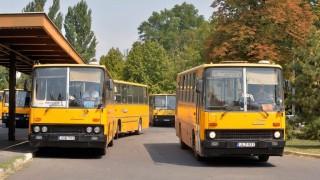 A Borsod Volán Ikarus autóbuszai